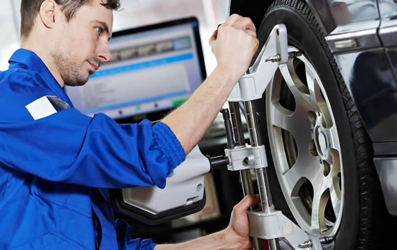 wheel-alignment-work